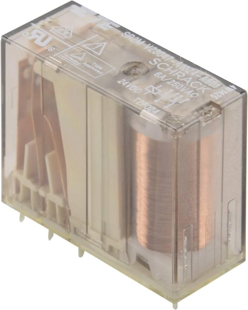 VARNOSTNI RELE SR2M 6A 2 X UK24VDC tyco 1-1393258-5 TE Connectivity