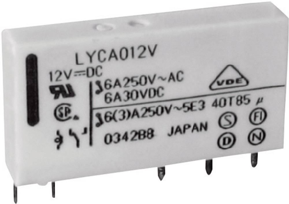 Mrežni relej FTR Fujitsu FTR-LYCA024V 24 V/DC 1 preklopni kontakt 6 A 250 V/AC