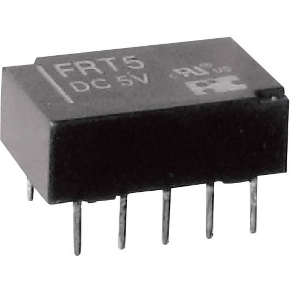 Printrelæ 12 V/DC 1 A 2 x omskifter FiC FRT5-DC12V 1 stk