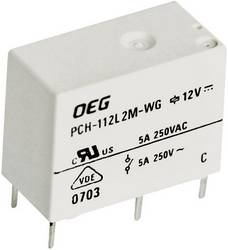 TE Connectivity PCH-112D2-WG PCB relays 12 Vdc 5 A 1 change
