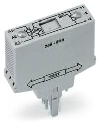 Broensretter komponent Med varistor 1 stk WAGO 286-830 Passer til serie: Wago serie 280 Passer til model: Wago 280-628, Wago 280