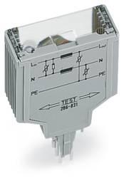 Overspændingsafleder-komponent 1 stk WAGO 286-831 Passer til serie: Wago serie 280 Passer til model: Wago 280-628, Wago 280-638,