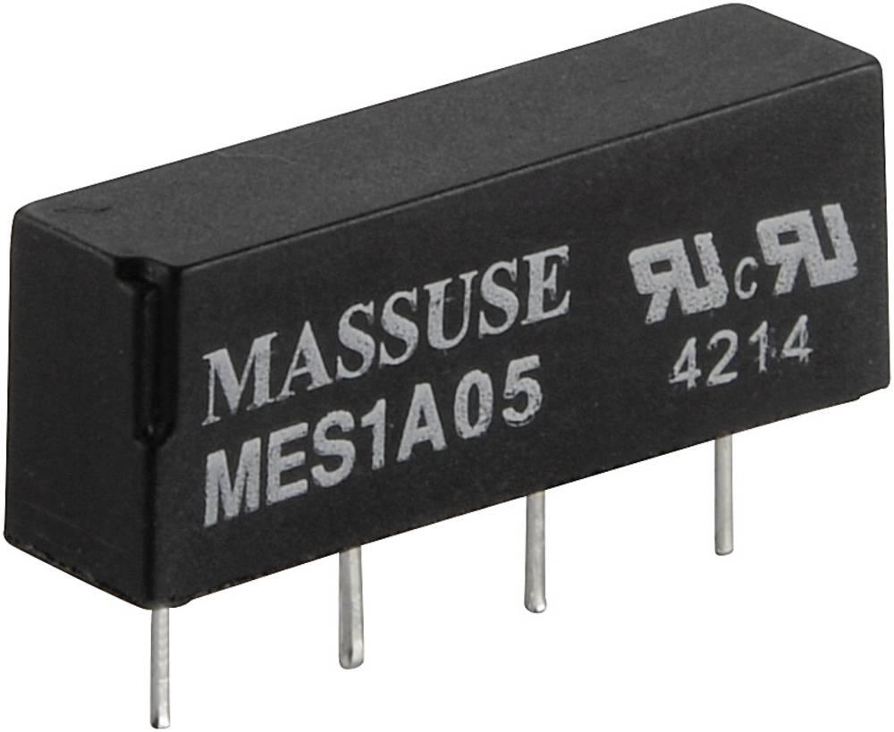 Reed-relæ 1 x sluttekontakt 24 V/DC 0.5 A 10 W SIP-4 MES1A24