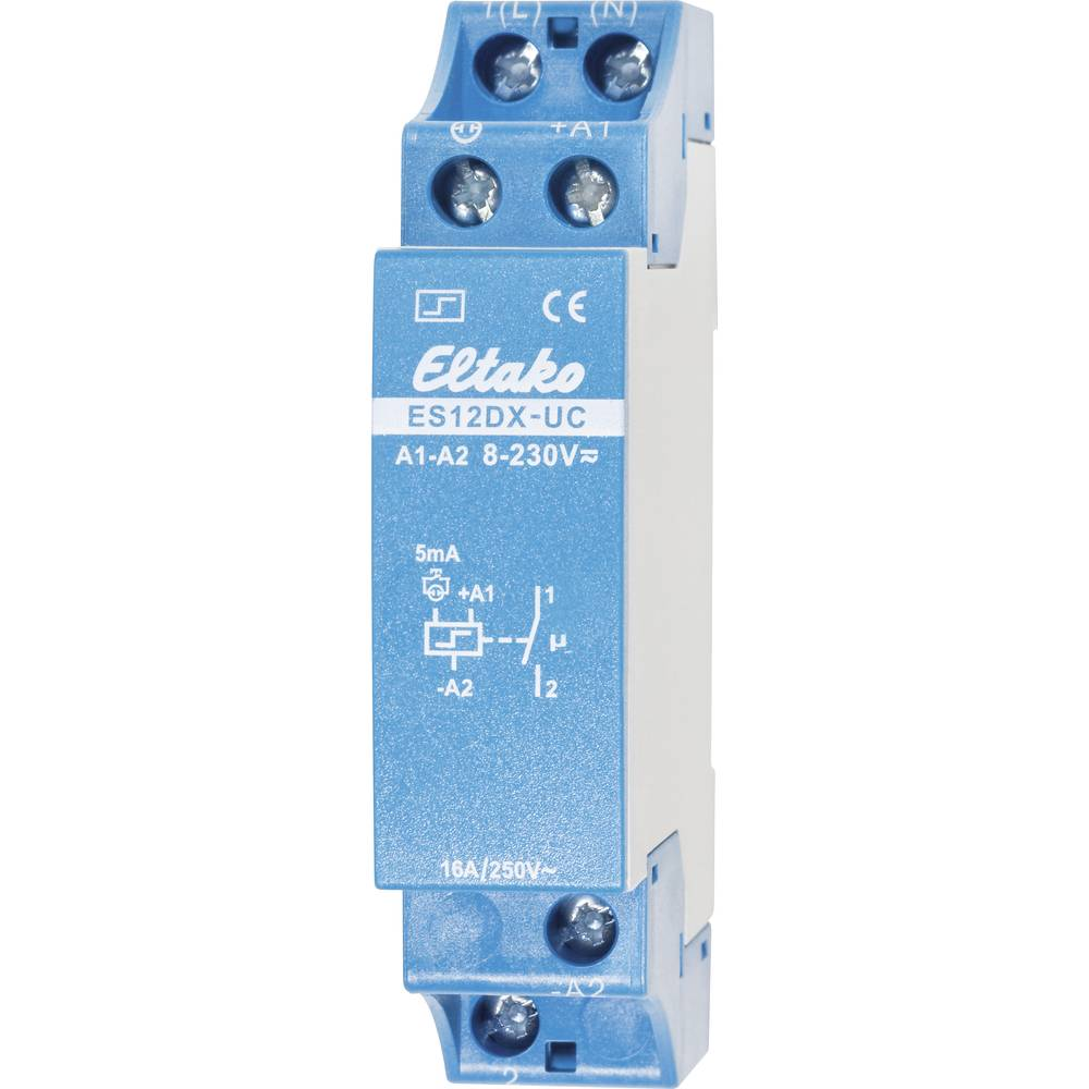 Impulzni relej ES12DX-UC, 1 uklopni kontakt, 16 A Eltako 21100002