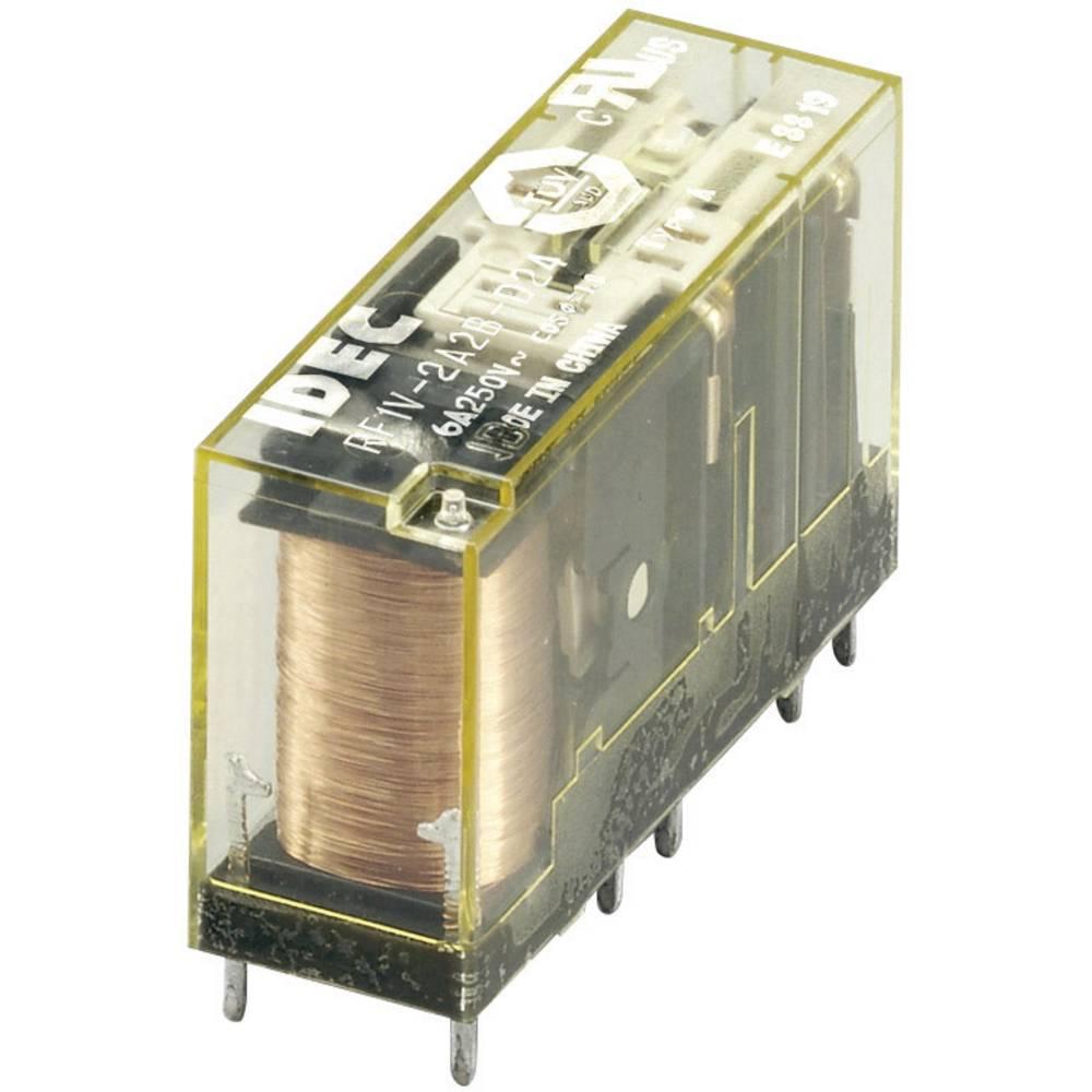 Idec RF1V-2A2BL-D24 PCB Mount Relay 2 NO / 2 NC