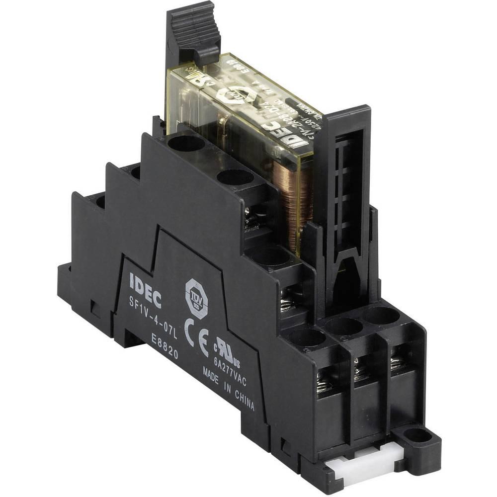 Relæsokkel 1 stk Idec SF1V-4-07L Passer til serie: IDEC serie RF1V (L x B x H) 75 x 22.4 x 58.9 mm