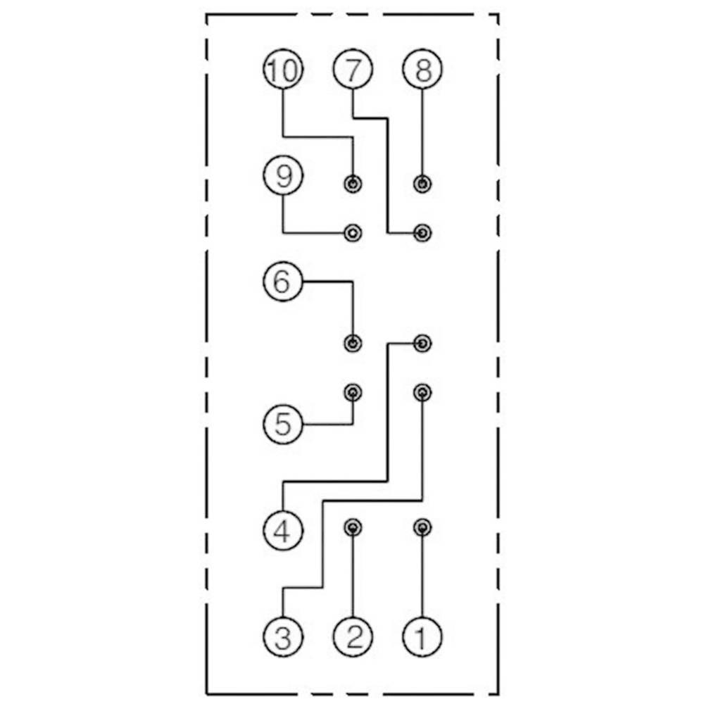 Relay Socket 1 Pcs Idec Sf1v 4 07l Compatible With Series Wiring Rf1v L X W H 75 224 589 Mm