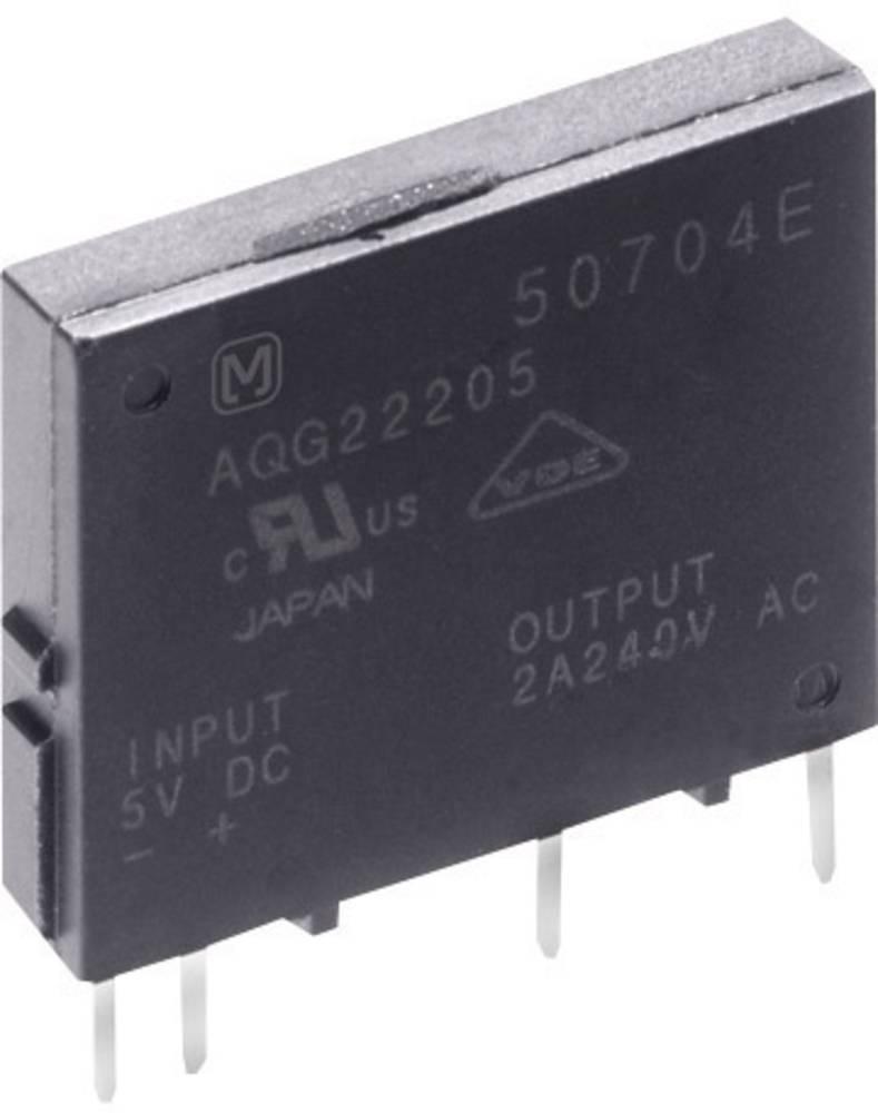 Polprevodniški rele 1 kos Panasonic AQG22124 bremenski tok (maks.): 2 A preklopna napetost (maks.): 264 V/AC Nullspannungsschalt