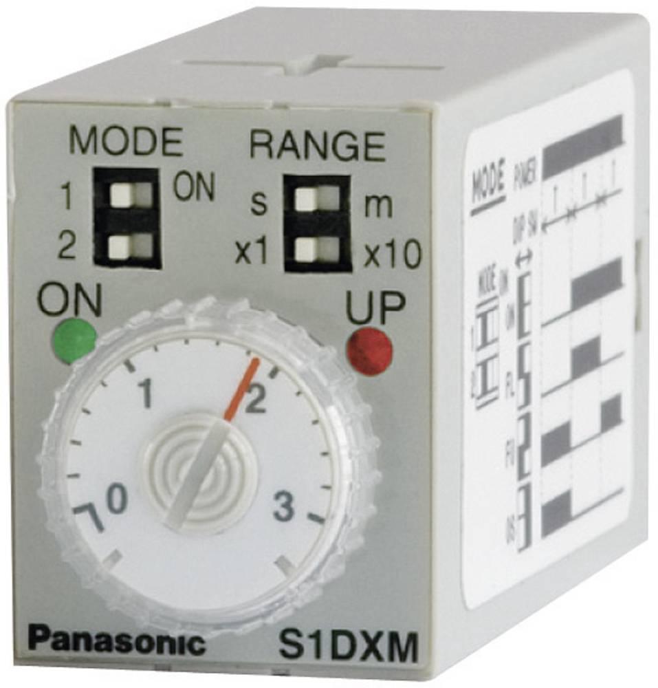 Panasonic S1DXMM4C10HDC24V-S-Mini vremenski relej, (85-110 %) 24V/DC, 4NC, 5 A/250 V/AC