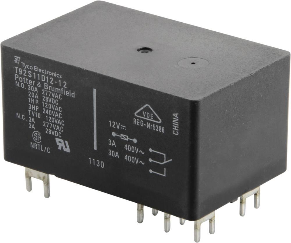 Relej za tiskanu pločicu, 30 A, dvopolni 1393211-89 12 V/DC2preklopna kontakta