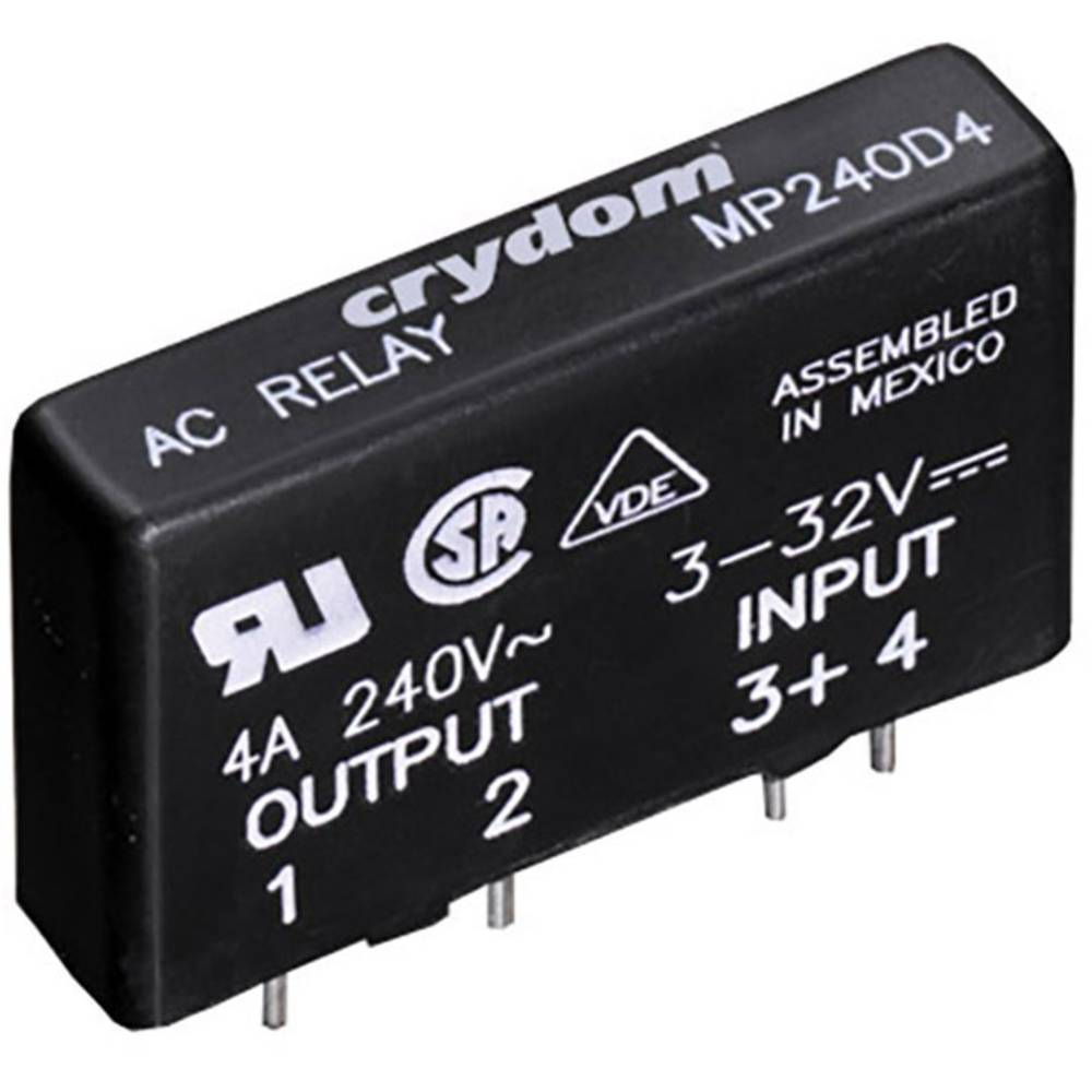 Crydom Mpdcd3 B Solid State Sip Pcb Load Relay From Conrad Electronic Uk Ac