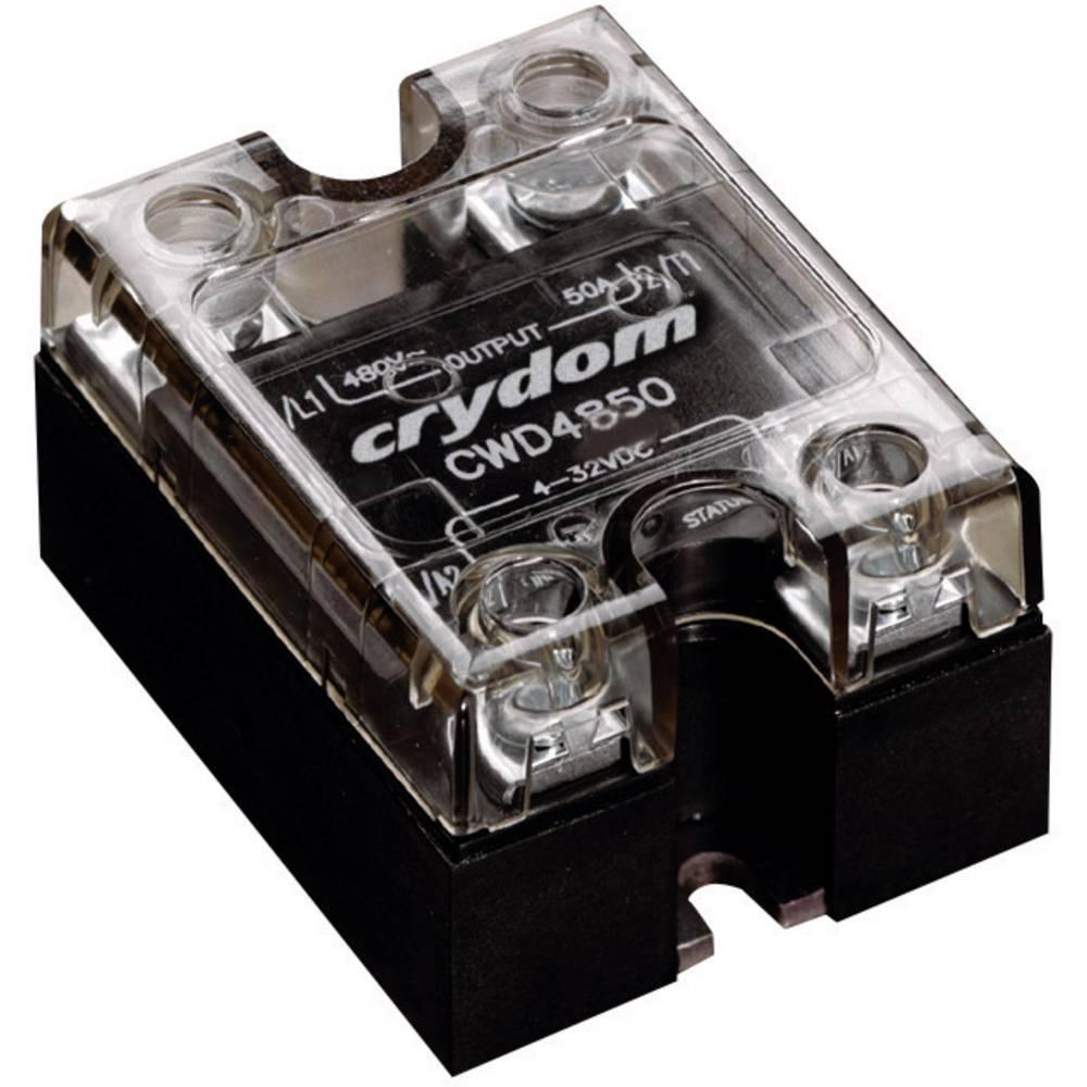 Halvlederrelæ 1 stk Crydom CWD2450 Last-Strøm (maks.): 50 A Koblingsspænding (max.): 280 V/AC Vekslende ved nulspænding