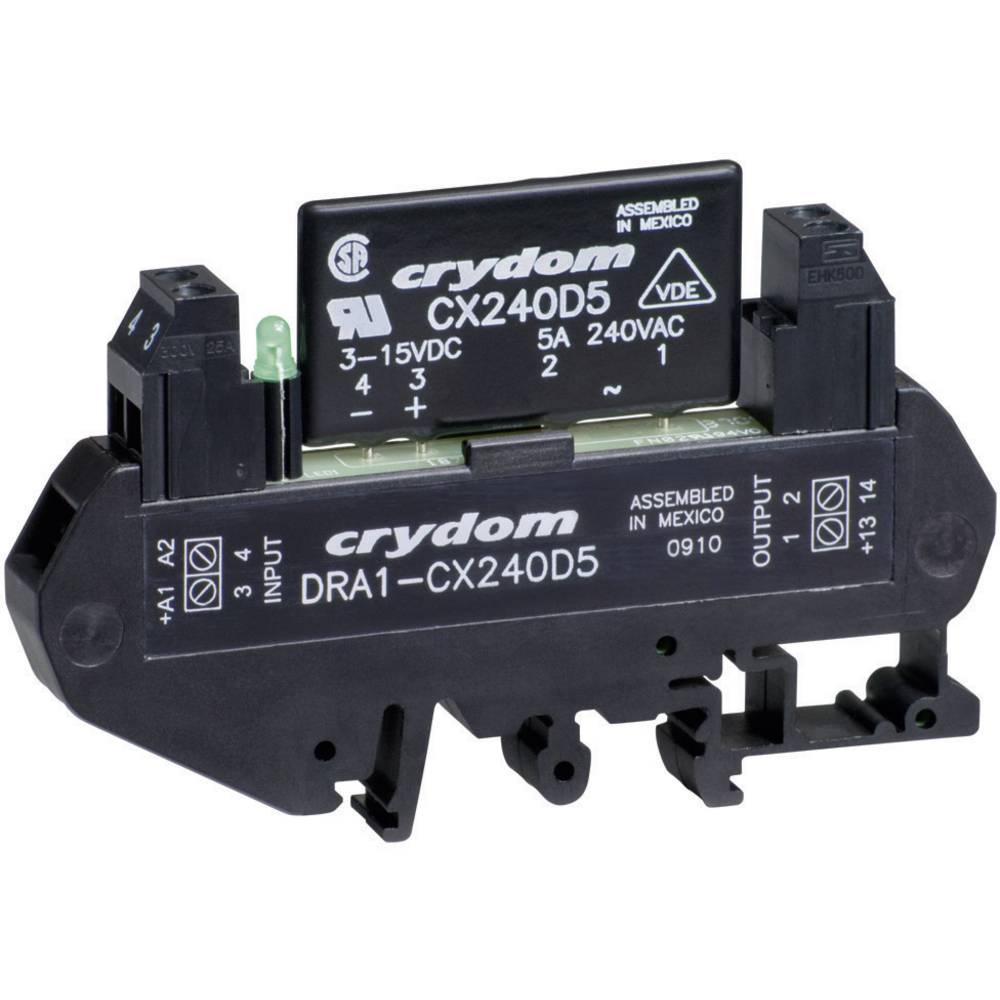 Crydom Dra1 Cxe240d5 Din Rail Mount Solid State Relay Ac From Schematic