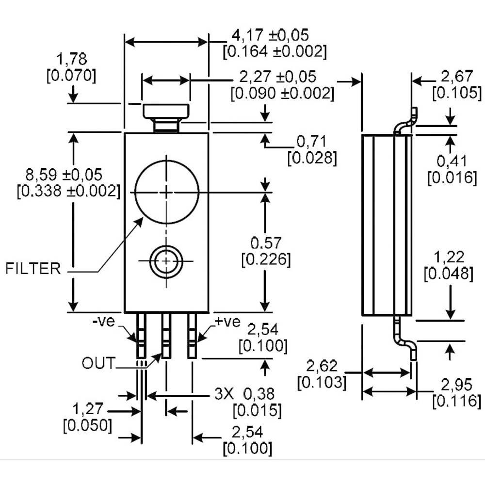 Moisture Sensor 1 Pcs Hih 4031 001 Honeywell Reading Rang From Dew Detector Probe Circuit