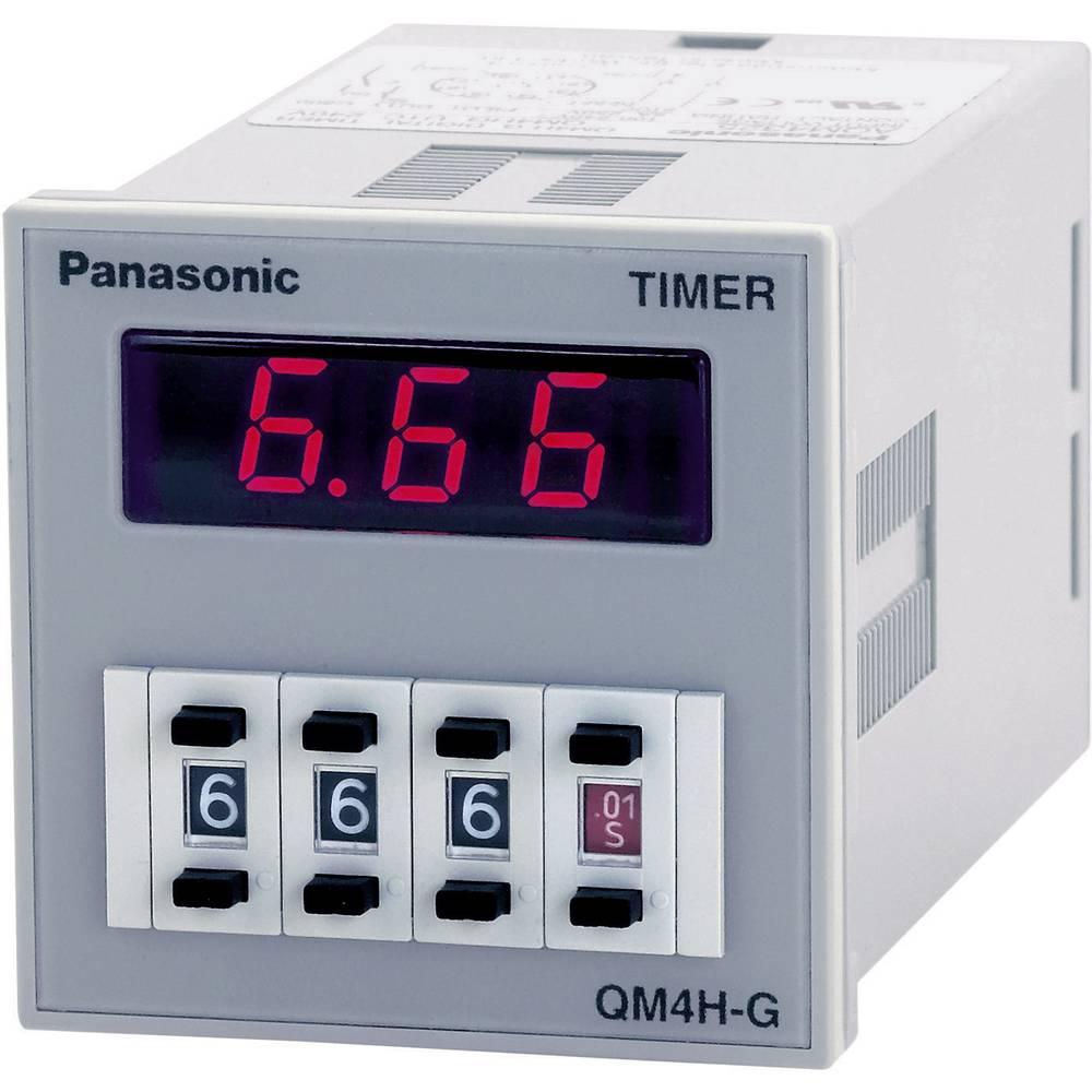 Monofunkcijski časovni rele 1 kos Panasonic QM4HSU2C48VJ časovni razpon: 0.01 s - 9990 h 1 x preklopni