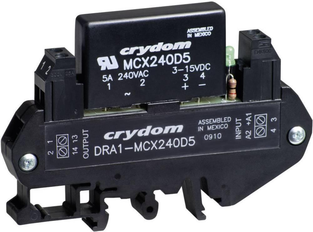 AC Poluprovodnički relej za montažu na DIN-letvu DRA1 Crydom DRA1-MCX240D5