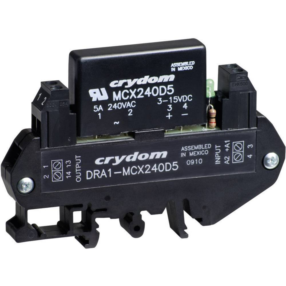 Crydom Dra1 Mcx240d5 Din Rail Mount Solid State Relay Ac From Germany