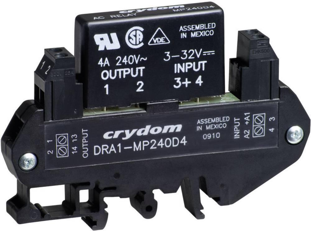 AC Poluprovodnički relej za montažu na DIN-letvu DRA1 Crydom DRA1-MP240D4