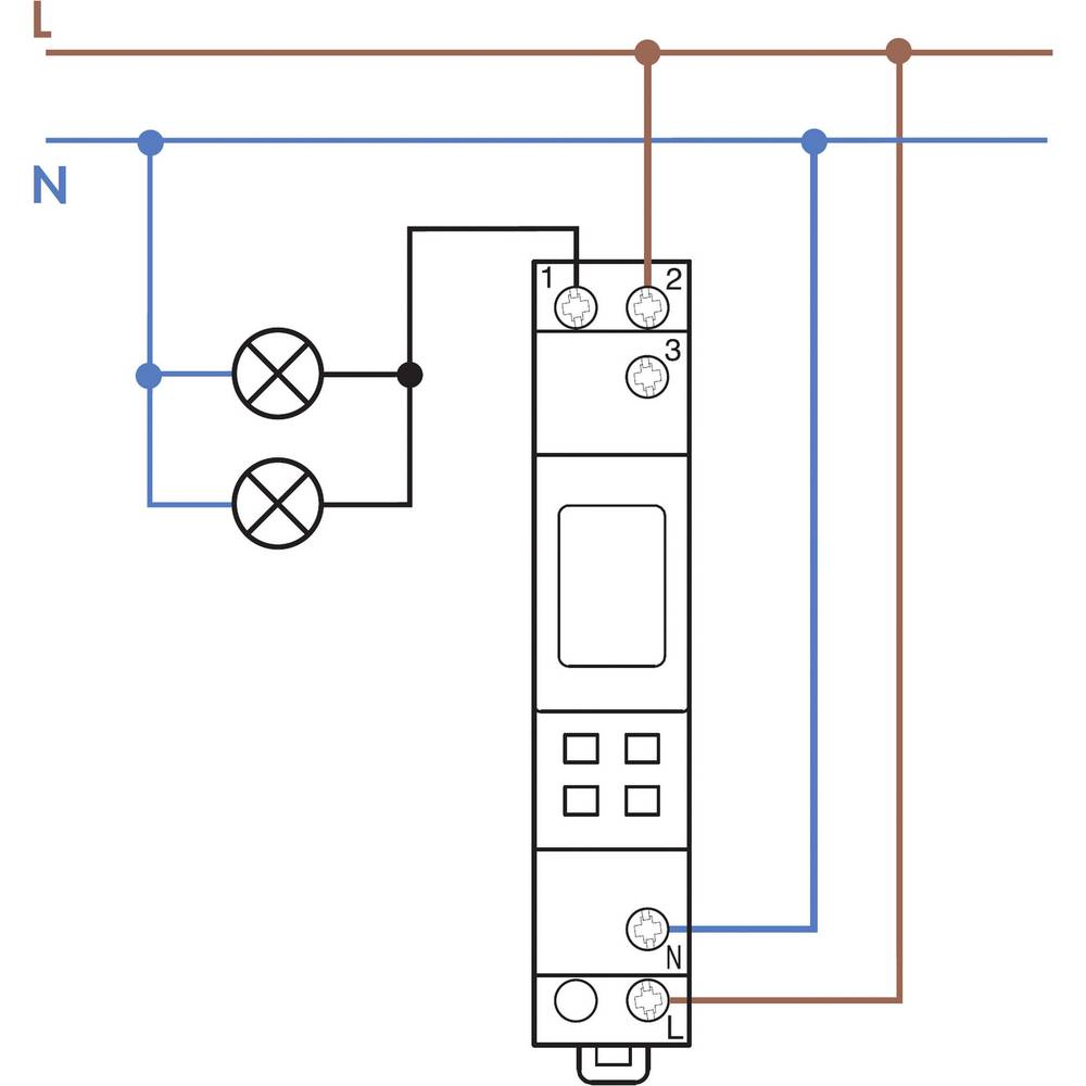 Finder 127182300000 16a Digital Weekly Time Switch Spdt Co How To Make A Parallel Battery Charger Changeover Circuit Using 250vac