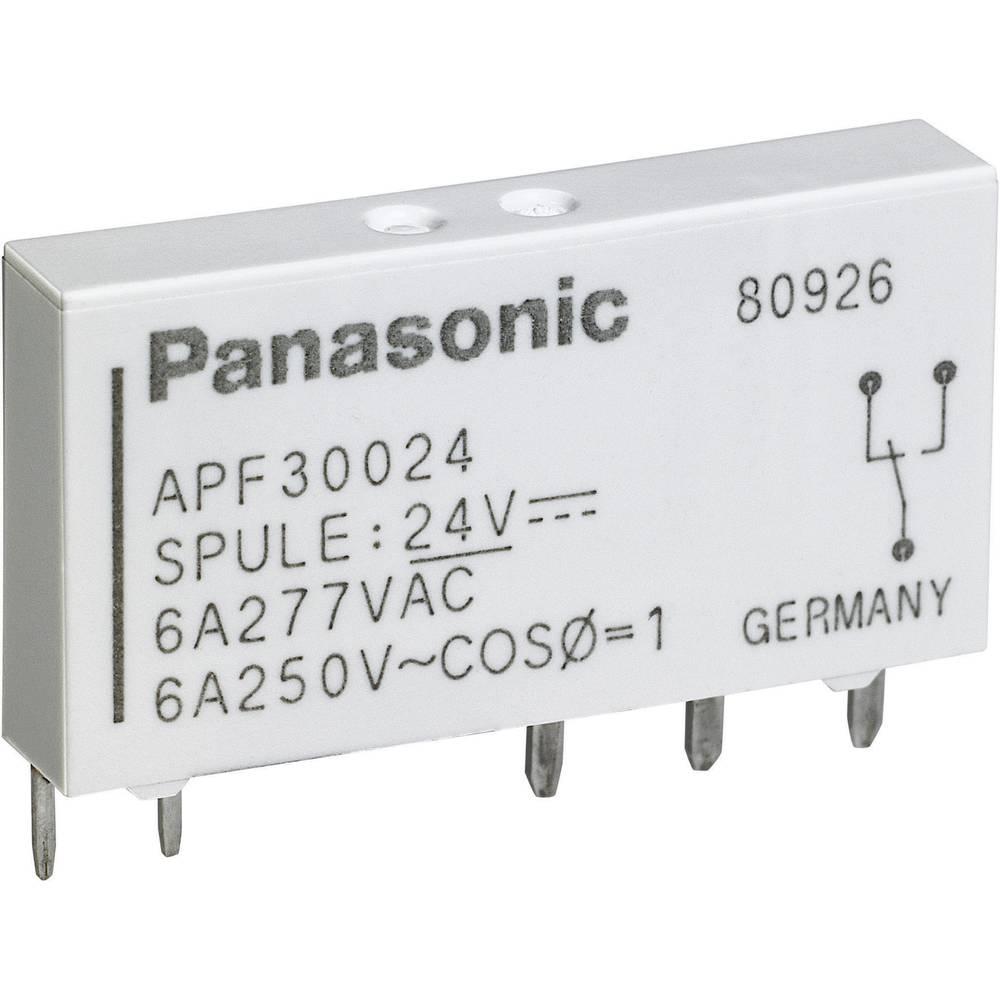 Panasonic APF30224-Snažni relej za tiskanu pločicu, 24V/DC,1 preklopni kontakt,6 A,250V/AC