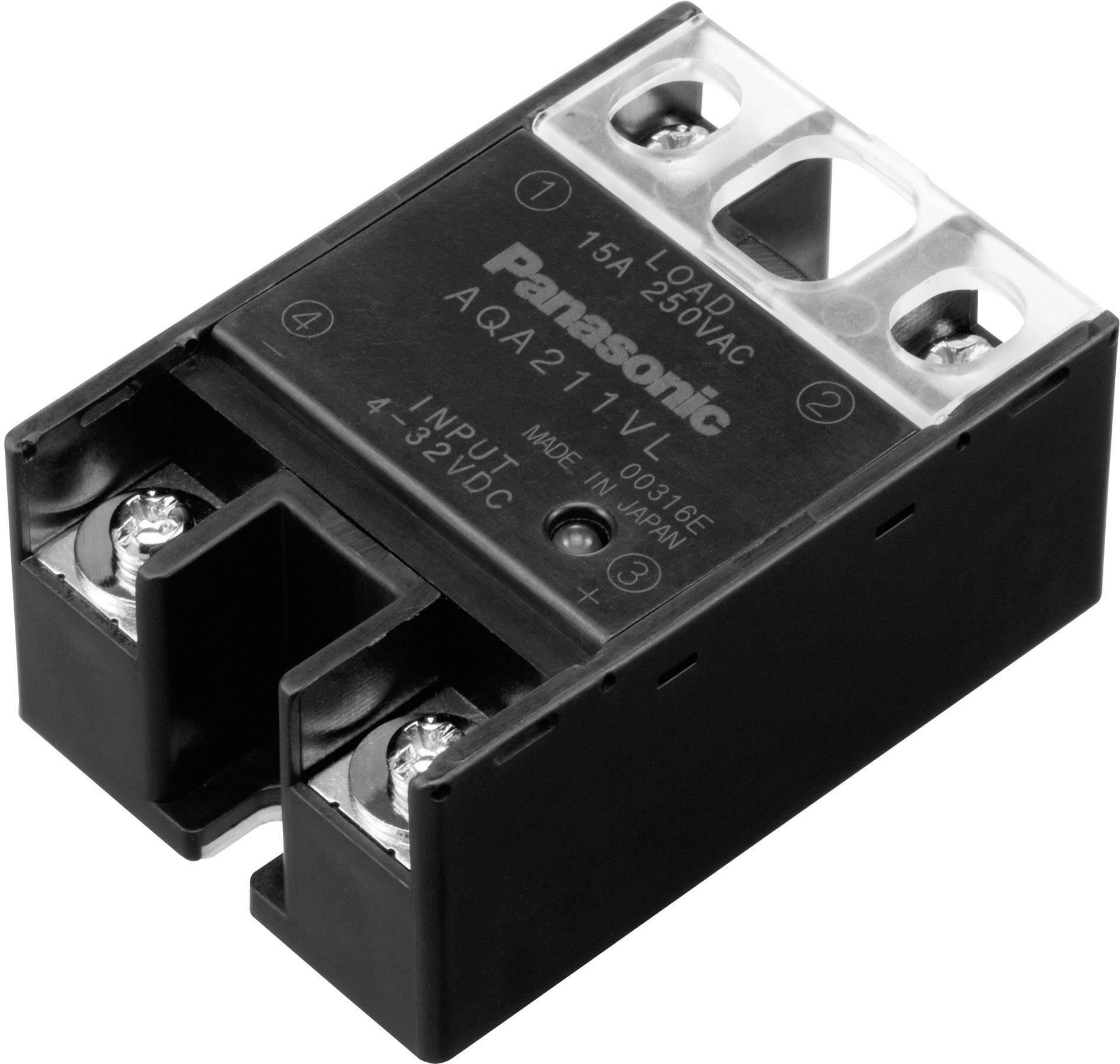 Panasonic SSR 1 pc(s) AQA611VL Current load (max ): 40 A Switching voltage  (max ): 250 V AC Zero crossing