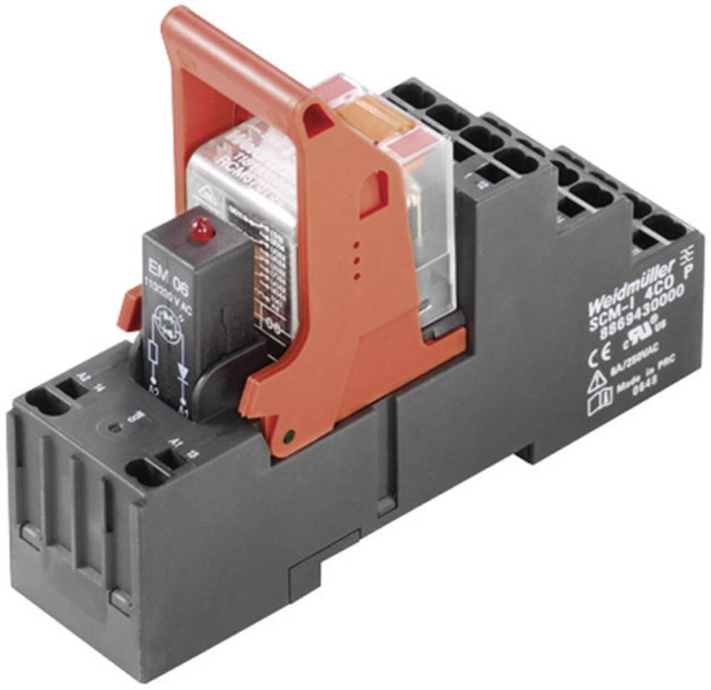 Preklopni rele RIDERSERIES Weidmüller RCMKITP-I 24VDC 4CO LD 4 izmenjevalnik 6 A