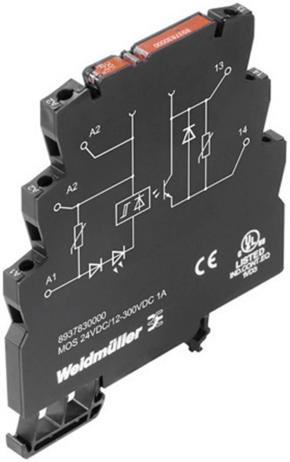 TTL-modul Weidmller Microopto, vhodni signal: 12-28 V/DC/0,, vhodni signal: 12-28 V/DC/0, 8937930000
