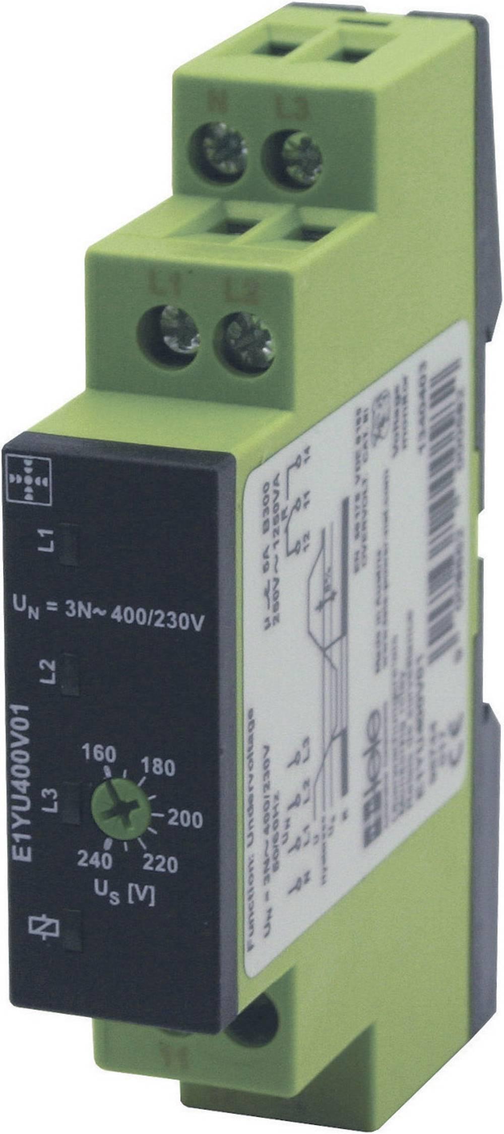 TELE-Nadzorni relej trofaznog napona serije ENYA E1YU400V01 1340403