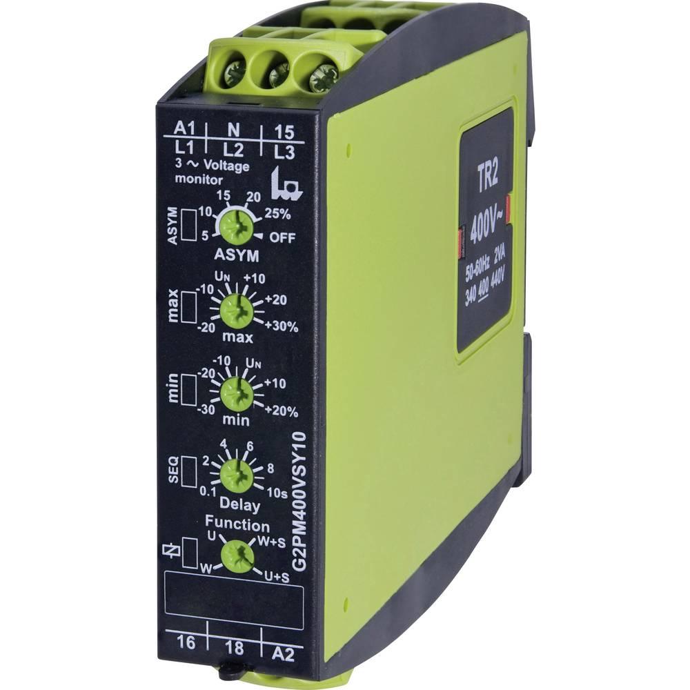 tele 2390500 G2PM400VSY10 Gamma 3-Phase Voltage Monitoring Relay 3-phase voltage monitoring