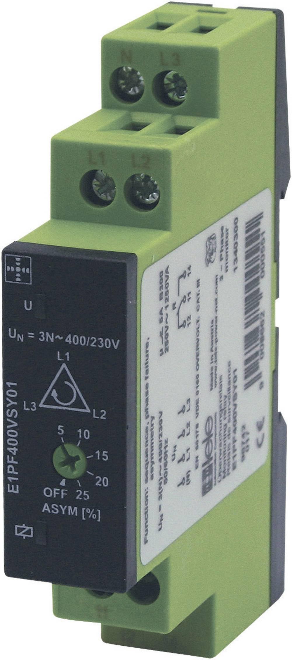 TELE-Nadzorni rele trifazne napetosti serije ENYA E1PF400VSY01 1340300