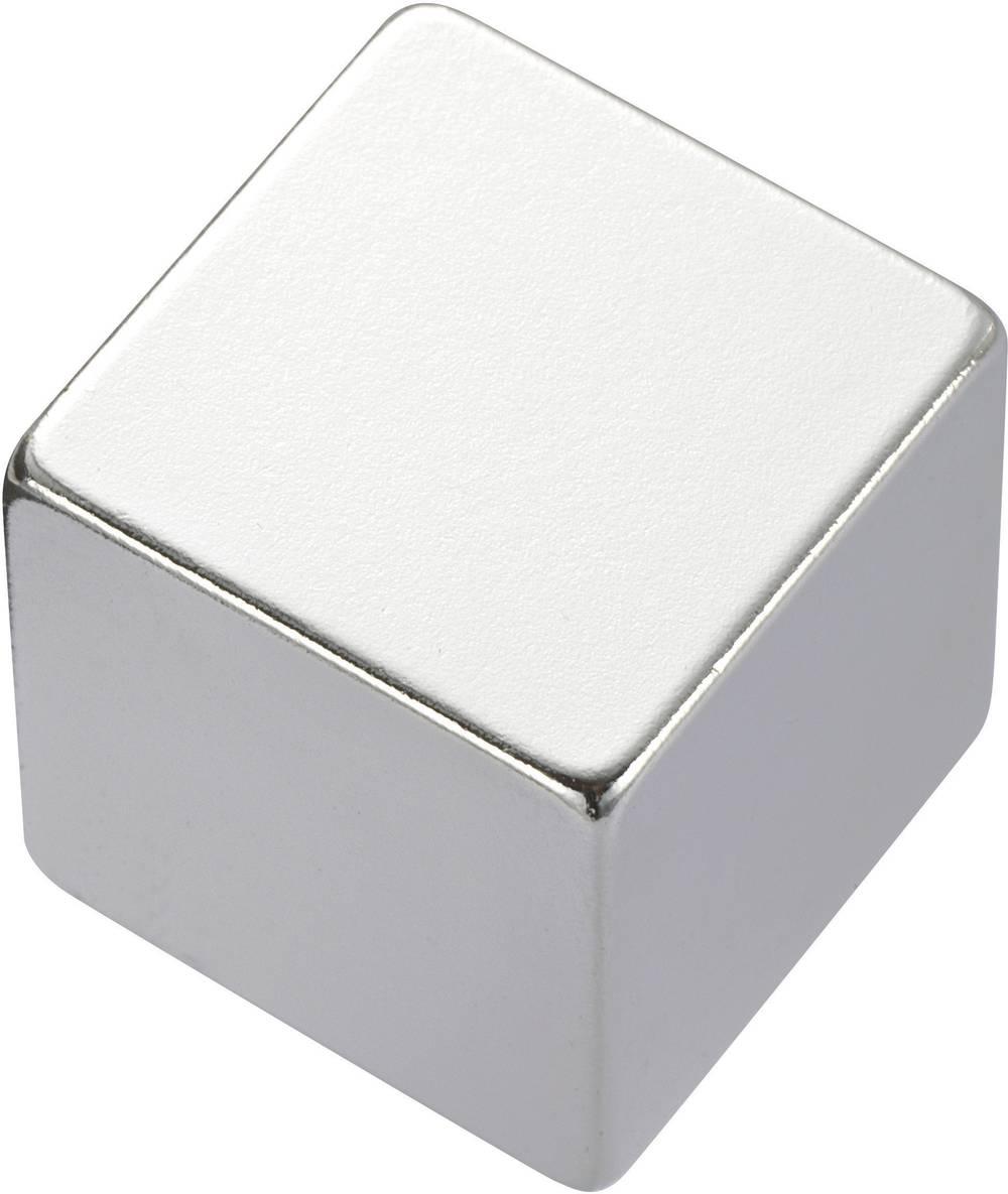 Pravokutni magnet NdFeB, (DxŠxV) 20 x 10 x 5 mm, materijal:N35, remanenca: 1, 18-1, 24 T