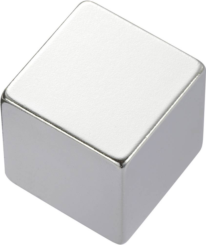 Pravokotni magnet NdFeB, (D xŠx V) 10 x 10 x 5 mm, material: N35, remanenca: 1,18-1,24 T