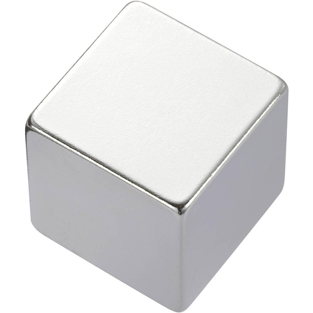 Pravokotni magnet NdFeB, (D xŠ x V) 5 x 5 x 5 mm, material:N45, remanenca: 1,33-1,37 T Conrad