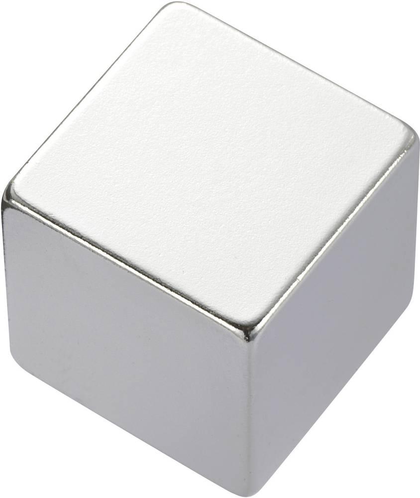 Pravokotni magnet NdFeB, (D xŠx V) 10 x 5 x 5 mm, N35EH, remanenca: 1,18-1,20 T