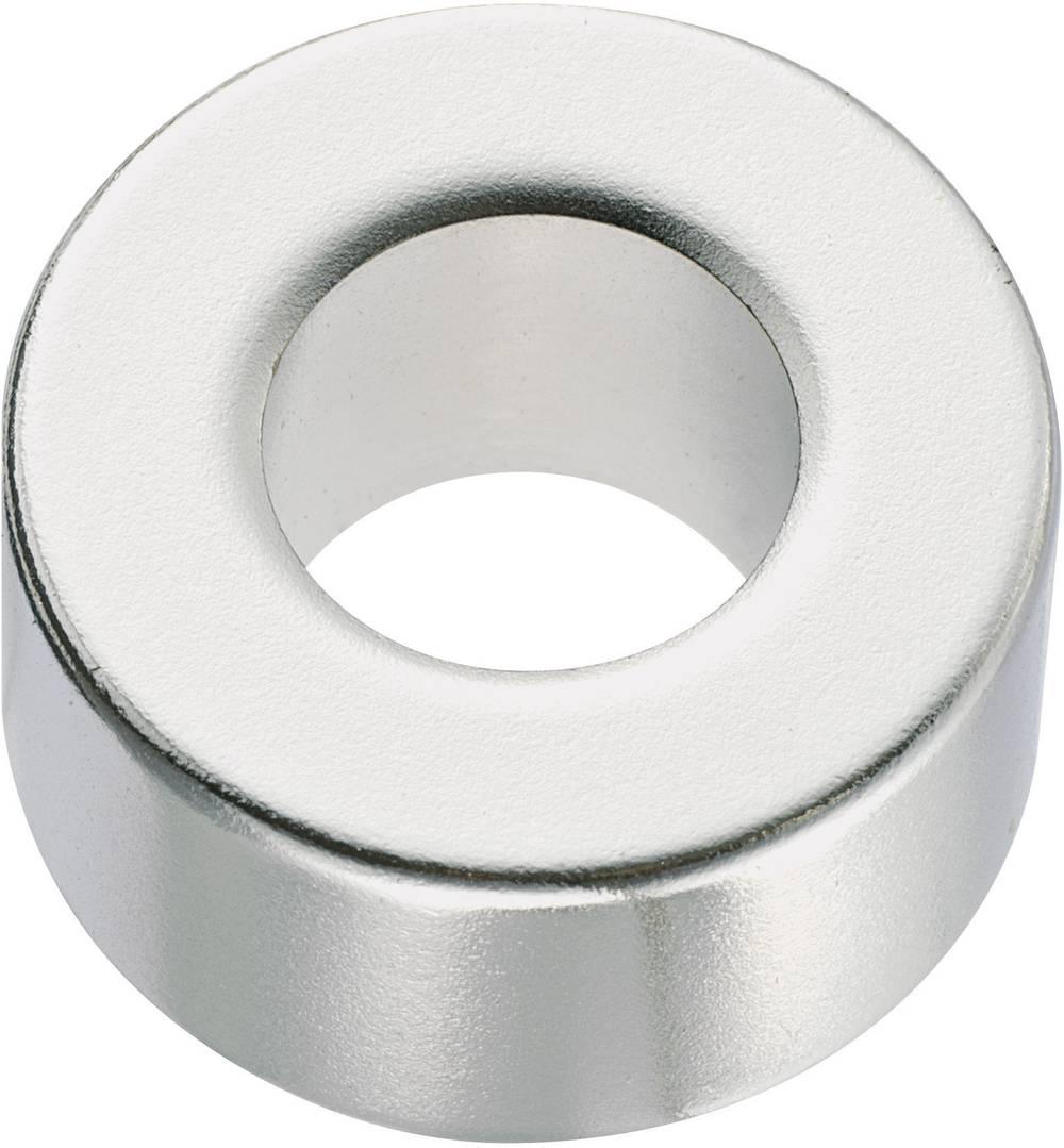 Trajni magnet N35 Conrad prstenasti 1.24 T granična temperatura (maks.): 80 °C