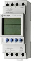 Timer til DINskinne Driftsspænding (num): 230 V/AC Finder 12.92.8.230.0000 2 x omskifter 16 A 250 V/AC Dagsprogram