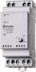 Industrirelæ 1 stk Finder 19.42.0.024.0000 Nominel spænding: 24 V/DC, 24 V/AC Brydestrøm (max.): 10 A 2 x sluttekontakt