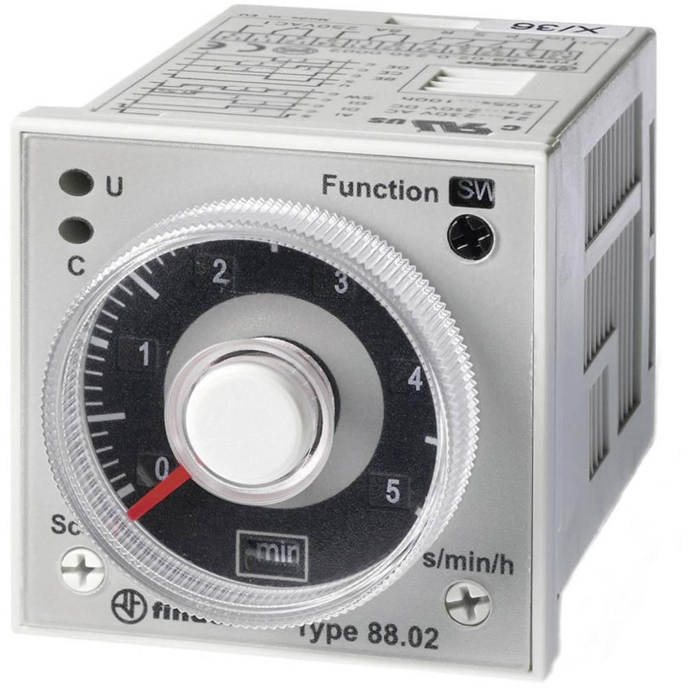 Finder 88.02.0.230.0002-Višefunkcijski vremenski relej, 24-230V DC/AC, 2NC,8A Max.250 V/AC