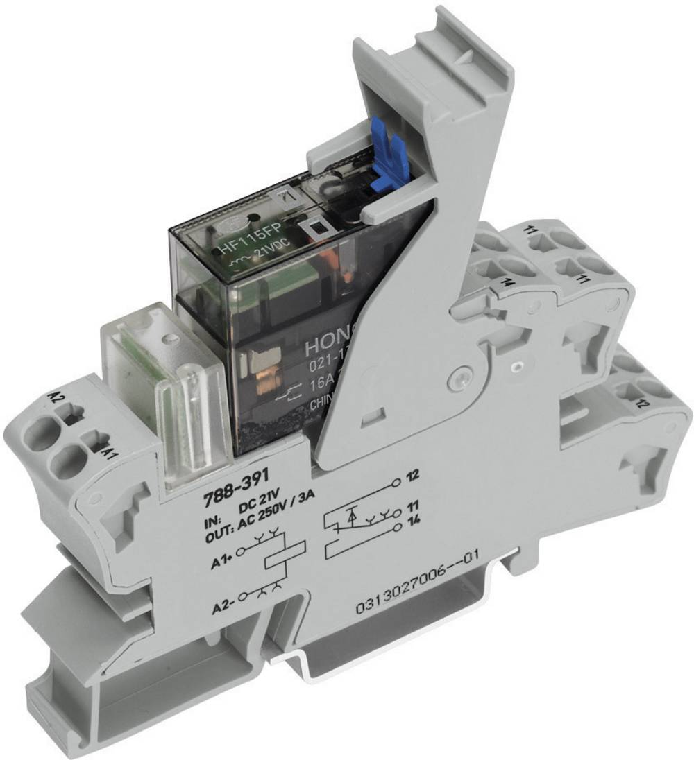 WAGO 788-548 Relay DPDT-CO 115Vac IP20