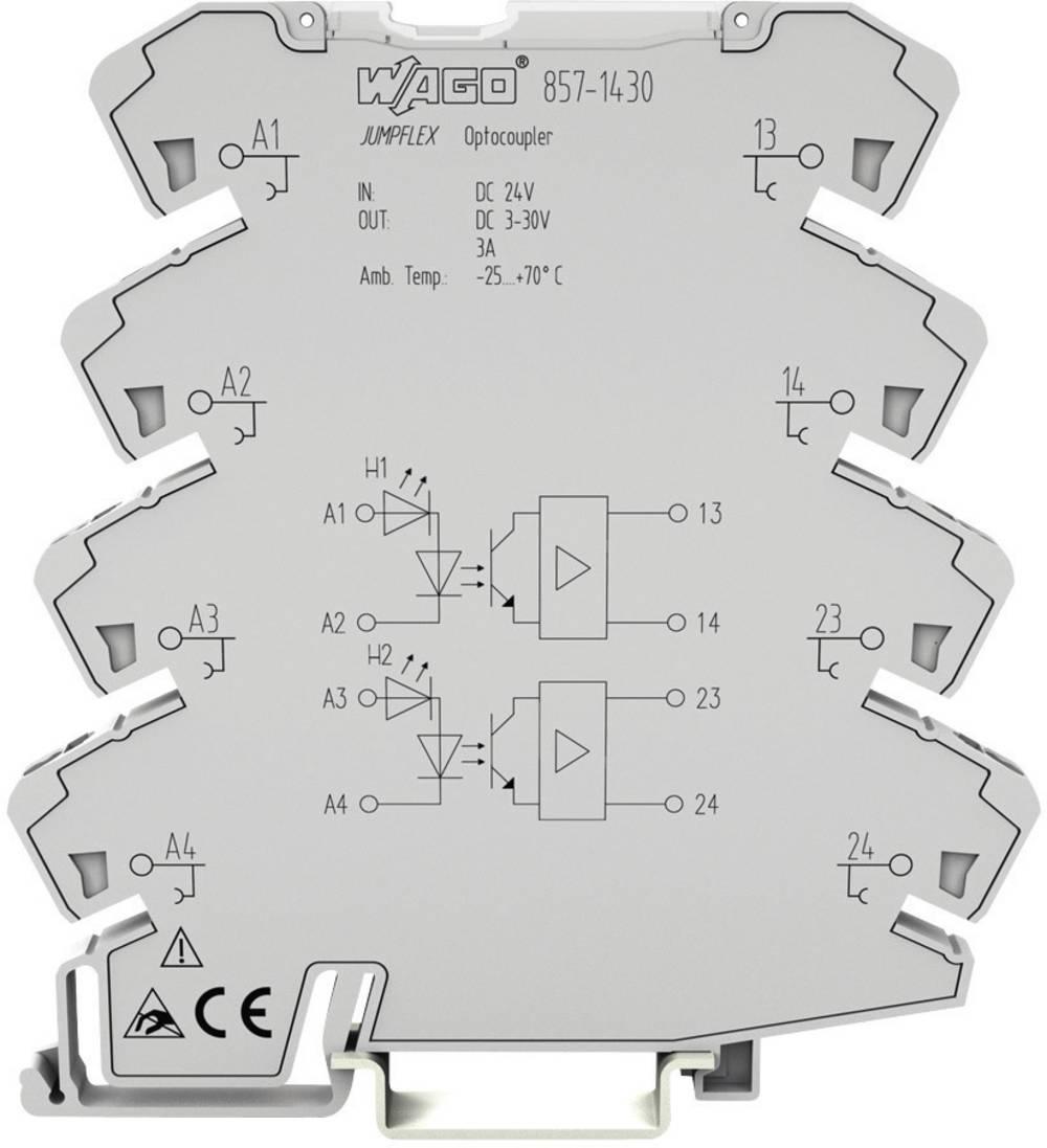 WAGO 857-1432 Relay DPDT-CO 24Vdc