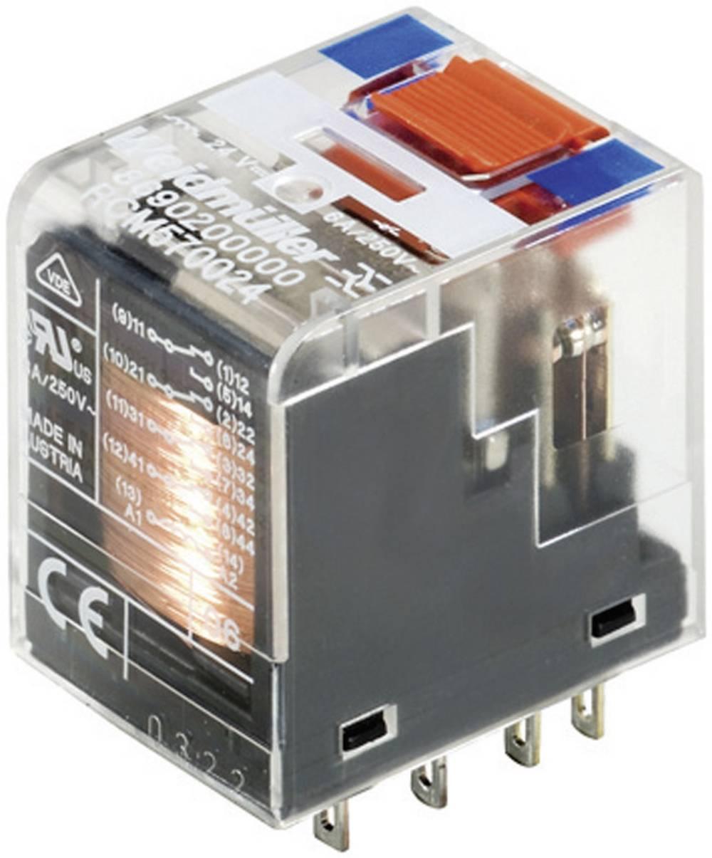 Vtični releji 24 V/DC 6 A 4 x preklopni Weidmüller RCM570024 1 kos