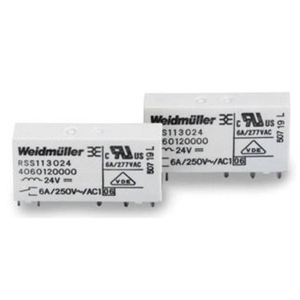 Stikrelæ 5 V/DC 6 A 1 x skiftekontakt Weidmüller RSS113005 05Vdc-Rel1U 1 stk