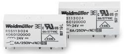 Weidmüller RSS113012 12 Vdc-Rel 1U PCB Mount Relay 12Vdc 1 CO, SPDT