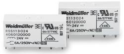 Weidmüller RSS113024 24 Vdc-Rel 1U PCB Mount Relay 24Vdc 1 CO, SPDT