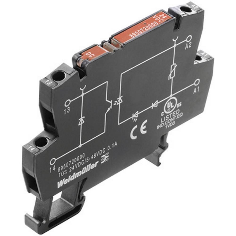 Optokoblerrelæ 1 stk Weidmüller TOS 120VAC/48VDC 0,1A Koblingsspænding (max.): 48 V/DC