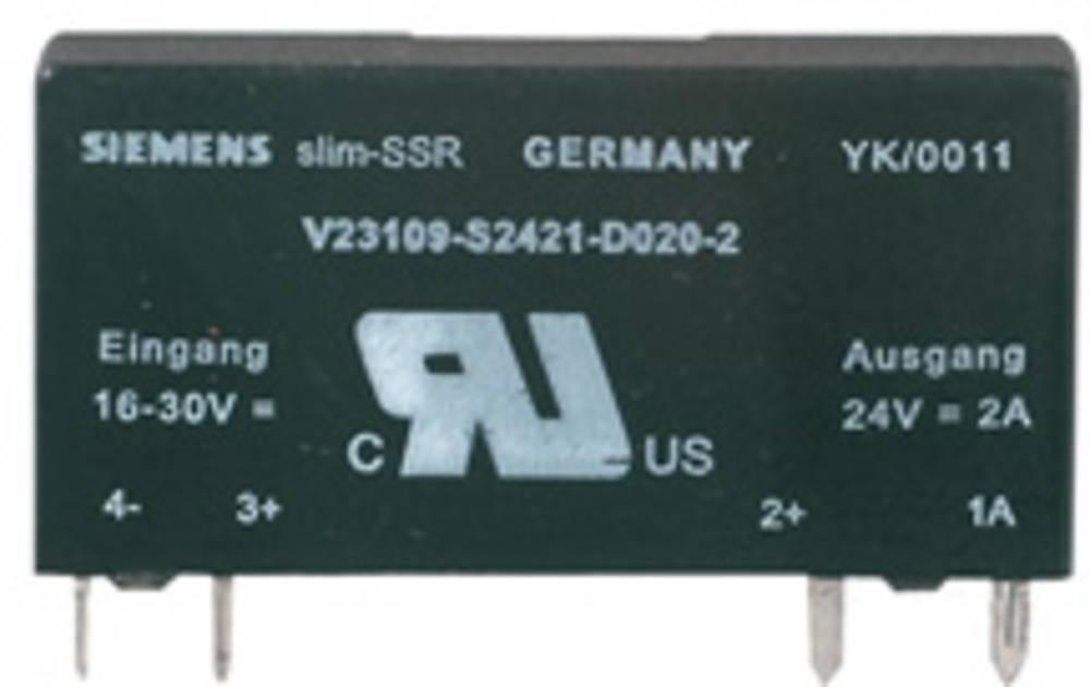 Halvlederrelæ 1 stk Weidmüller SSS Relais 24V/24V 2Adc Last-Strøm (maks.): 2 A Koblingsspænding (max.): 33 V/DC