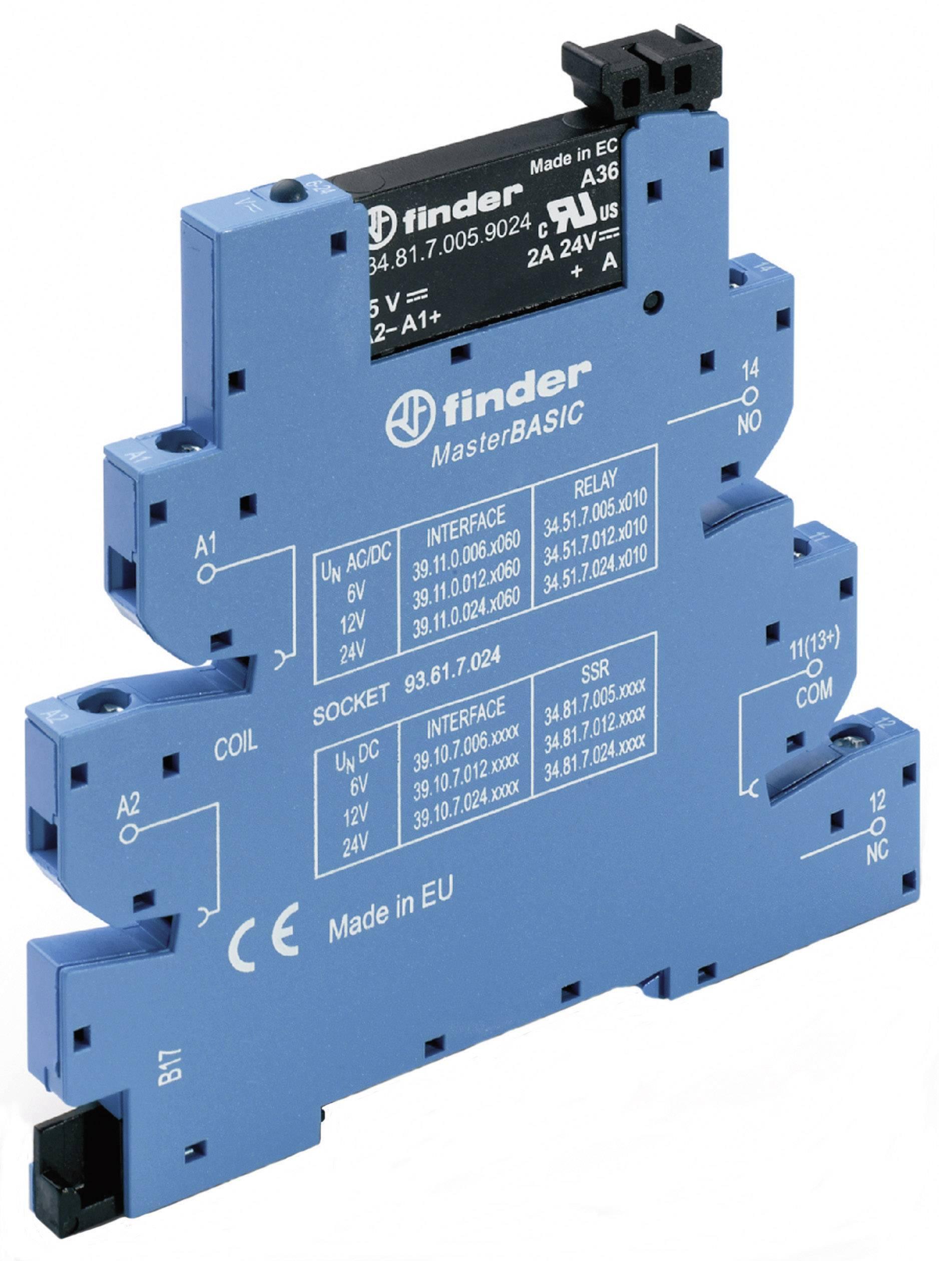 Finder SSR 1 pc(s) 39 10 7 024 9024 Current load (max ): 2 A