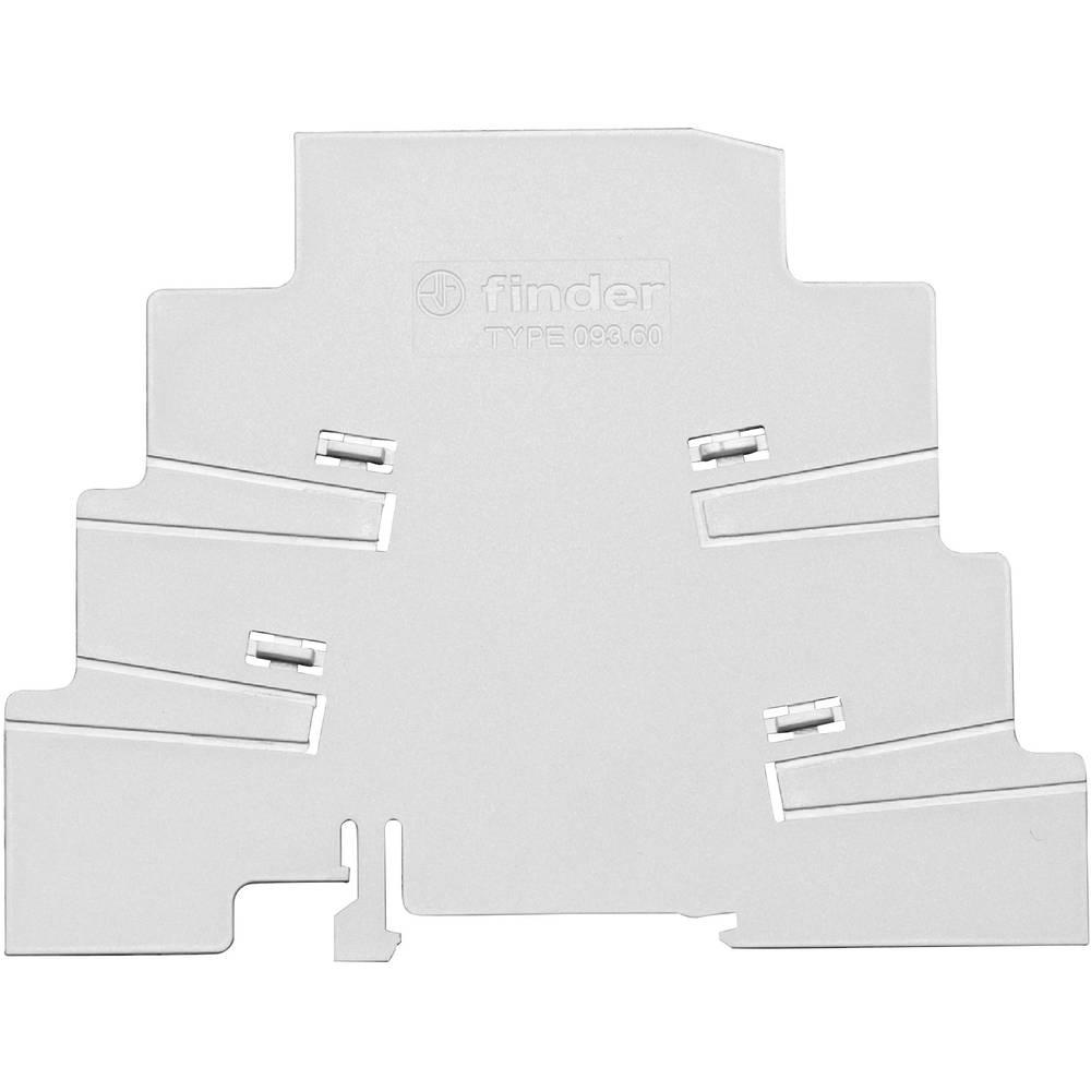 Izolirna plošča Finder 093.60za rele s sponko serije 39