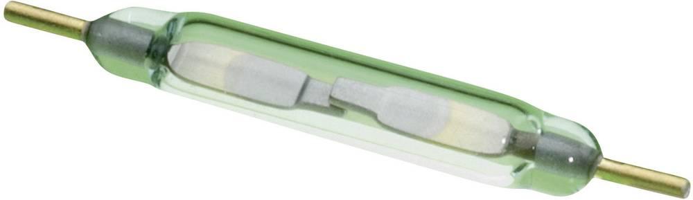 Reed-kontakt 1 x sluttekontakt 180 V/DC, 130 V/AC 0.7 A 10 W Glaskolbelængde:10 mm PIC PMC-1001S