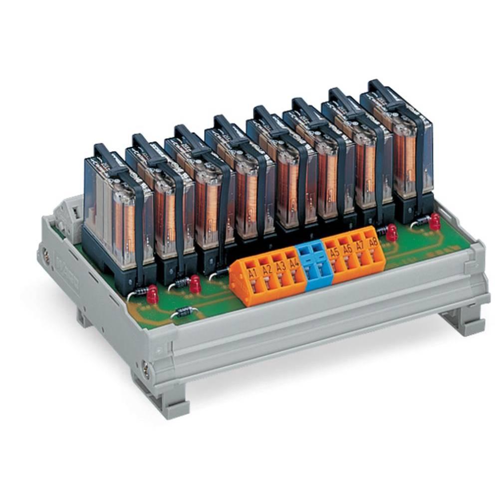 Relejski modul WAGO 287-824 8 releji je 1 x preklopni , nazivna napetost 250 V